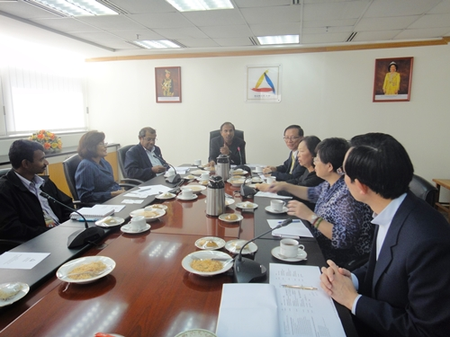A delegation of four visits Human Rights Commission of Malaysia