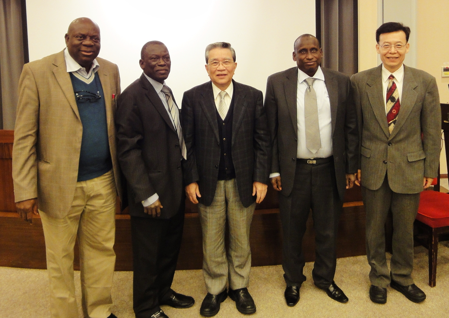 Nigerian delegation visits to discuss HR issues